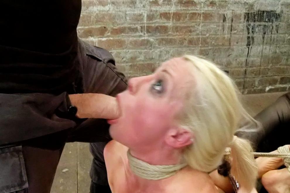 Bondage male slave master