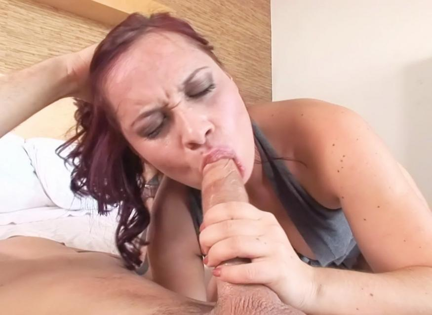 Tall girl sucking cocks