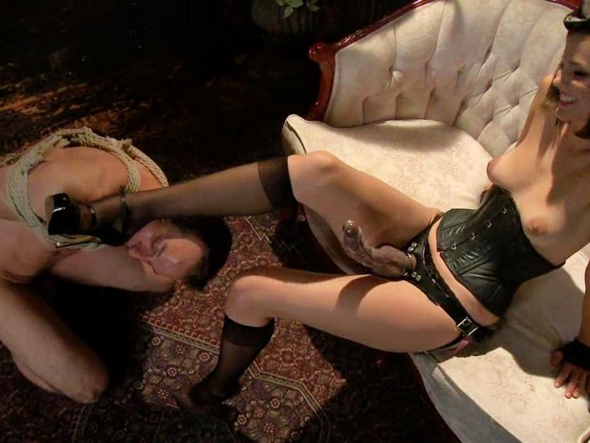 Female dominant handjob