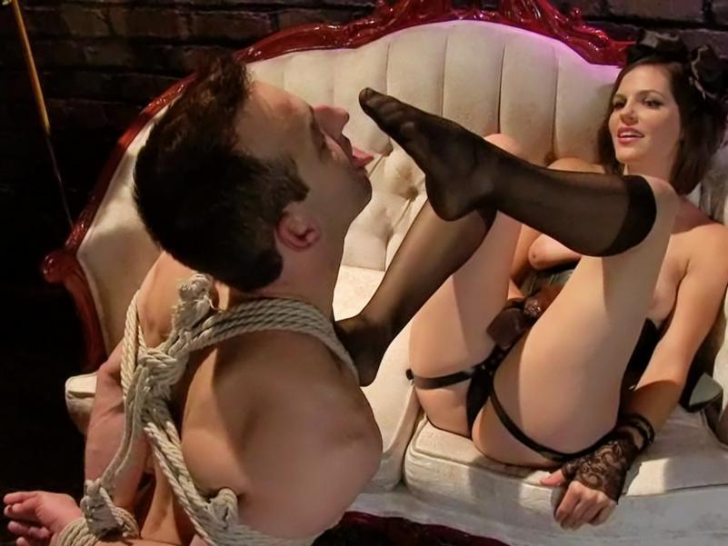 Foot slave femdom stories