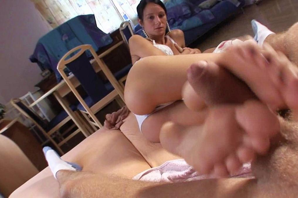 Foot foot sex woman with you