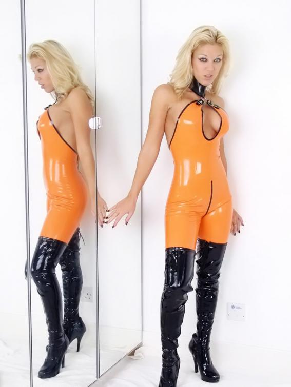 latex and pvc fetish № 7303