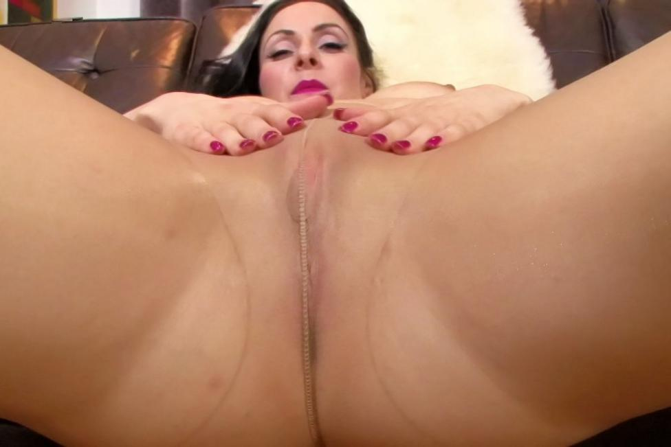 Hand Lesbian Pantyhose Sex