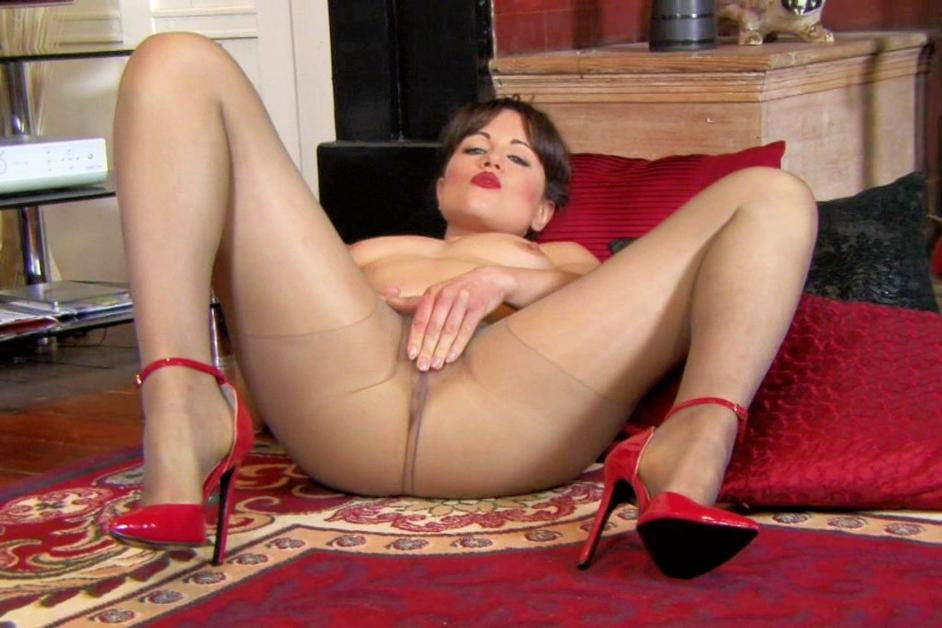 pantyhose in with men having Women sex